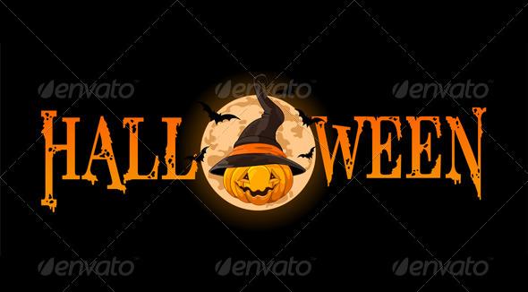 GraphicRiver Halloween Pumpkin Banner 5424075
