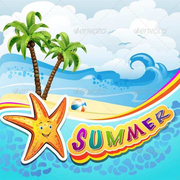 GraphicRiver Summer Beach 5424491