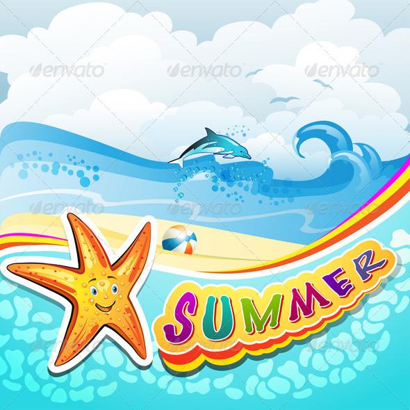 GraphicRiver Summer Beach 5424493