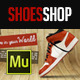 Shoes Shop Muse Template - ThemeForest Item for Sale