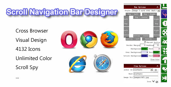 CodeCanyon Scroll Navigation Bar Designer 5385960