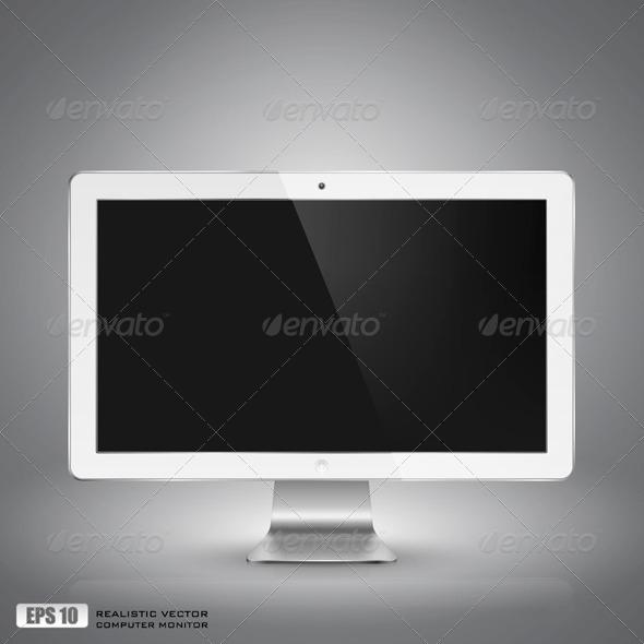 GraphicRiver Computer Monitor 5351065