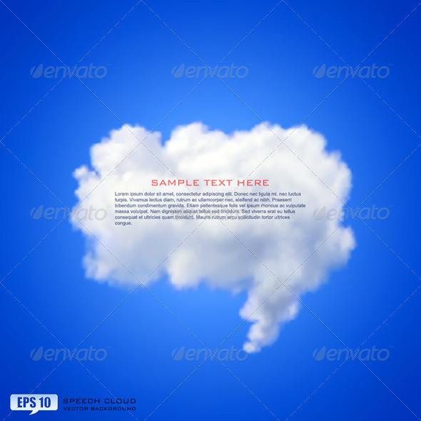 GraphicRiver Speech Cloud 5351035