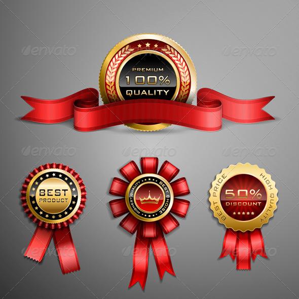 GraphicRiver Award Ribbon 5351033
