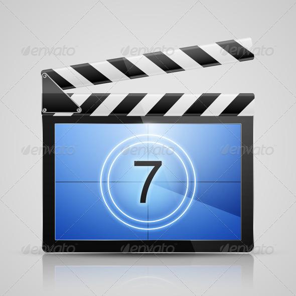 GraphicRiver Movie Player Icon 5351017