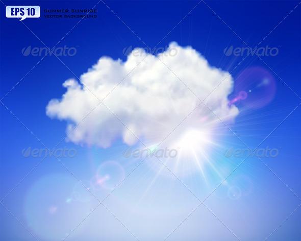 GraphicRiver Summer Sunrise 5426842