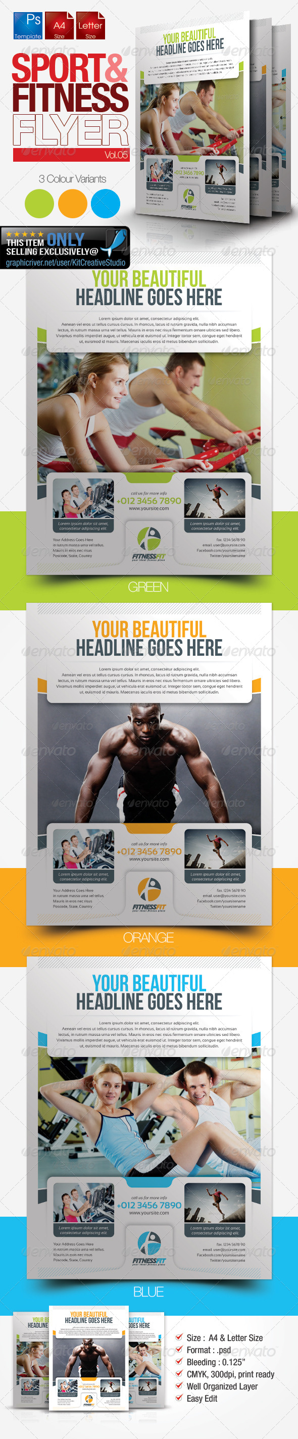 Fitness Flyer Vol.5 - Sports Events