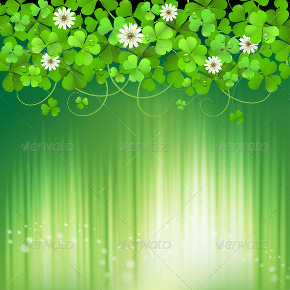 GraphicRiver Saint Patrick s Day Background 5426938