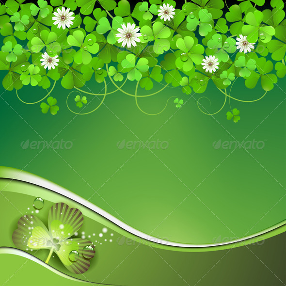 GraphicRiver Saint Patrick s Day Background 5426948