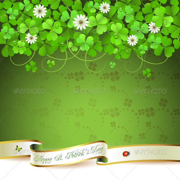 GraphicRiver Saint Patrick s Day Background 5427007