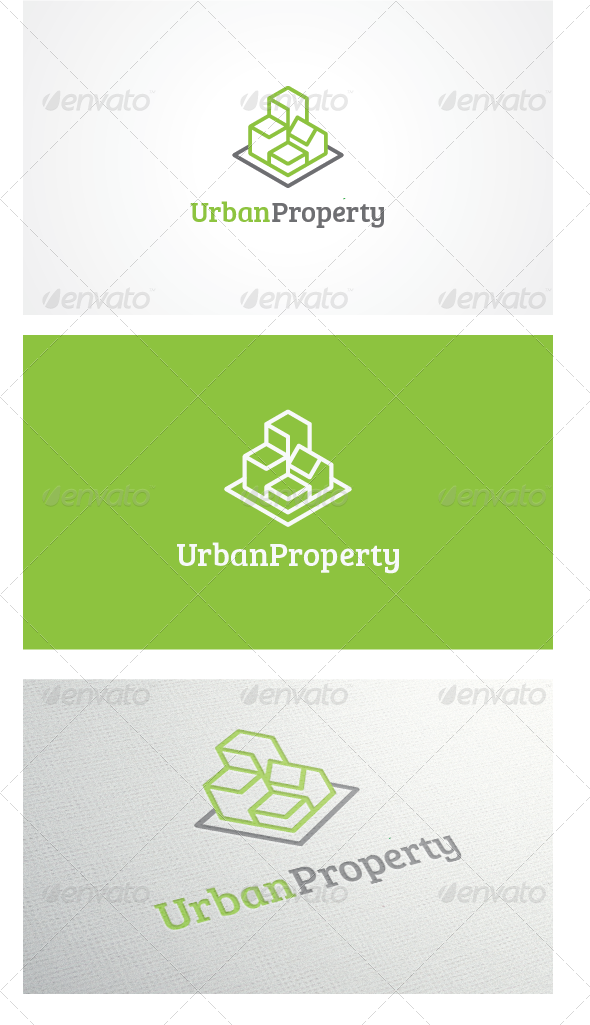 GraphicRiver Urban Property Logo Template 5425416