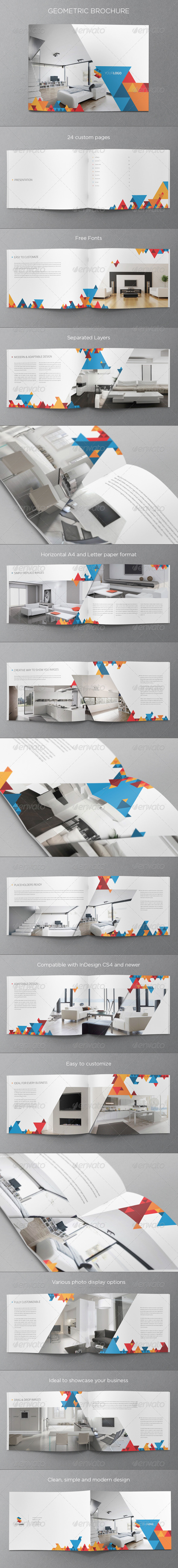 GraphicRiver Modern Geometric Brochure 5427360