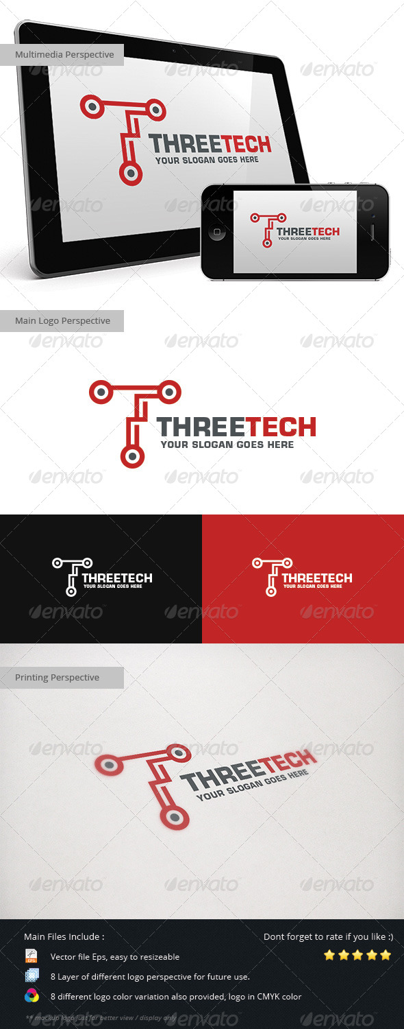 GraphicRiver Three Tech 5428120
