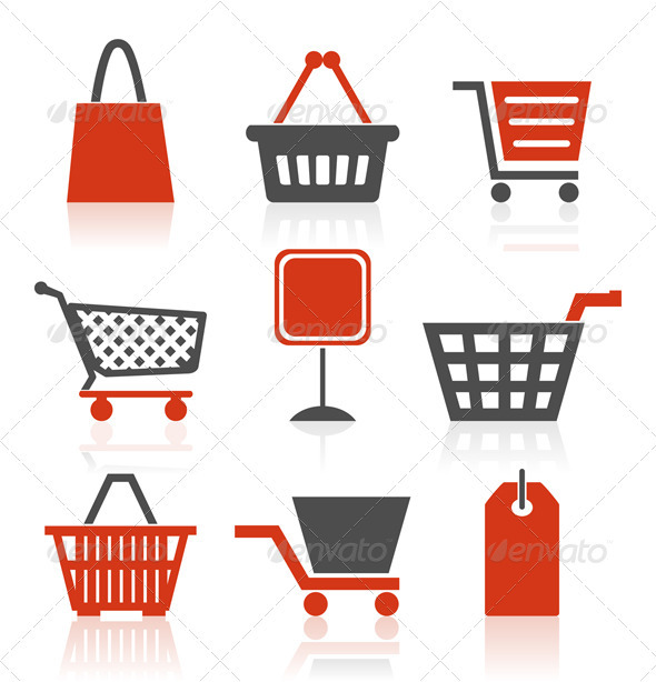 Graphic River Icon sale Vectors -  Conceptual  Commercial / Shopping 558240