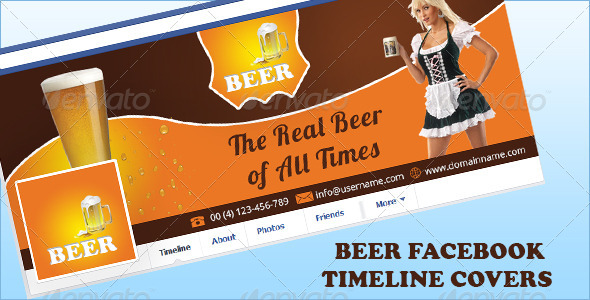 GraphicRiver Beer Facebook Timeline Covers 5428718