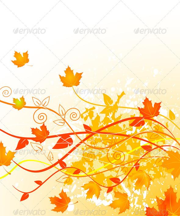 GraphicRiver Autumn in Gold 5428946