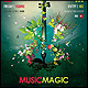 Music Magic Poster/Flyer - GraphicRiver Item for Sale