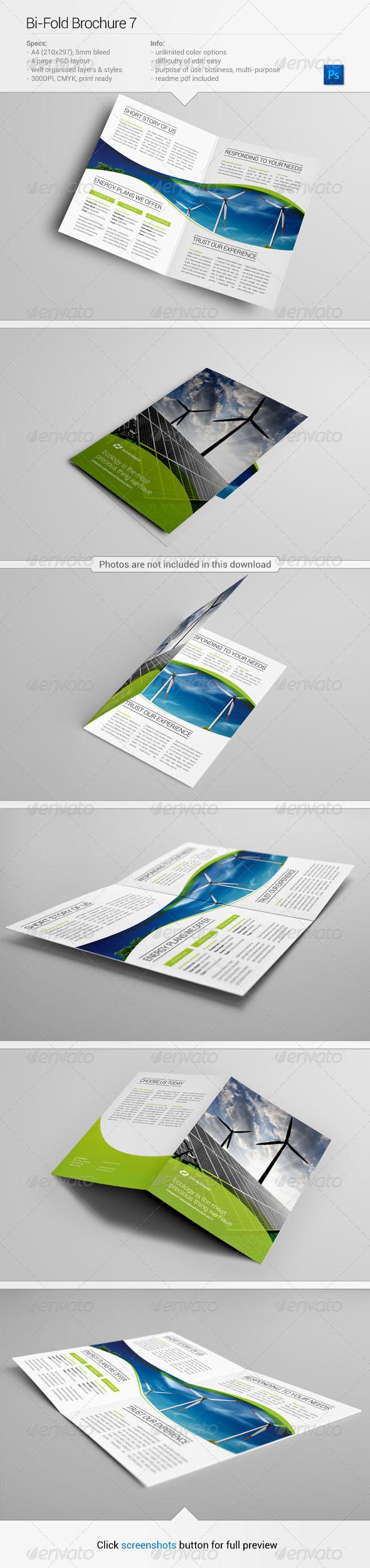 Bi-Fold Brochure 7 - Corporate Brochures