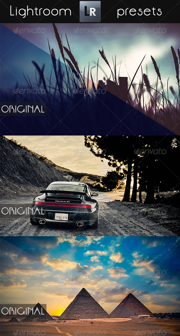 GraphicRiver 7 Mixed Pro Presets 5430000