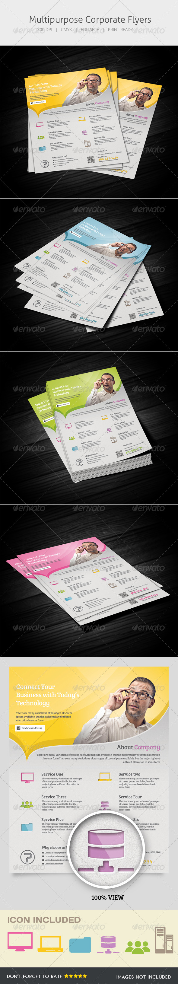 GraphicRiver Multipurpose Flyer 5410328