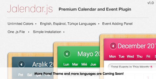 CodeCanyon Jalendar Premium Calendar and Events Plugin 5410199