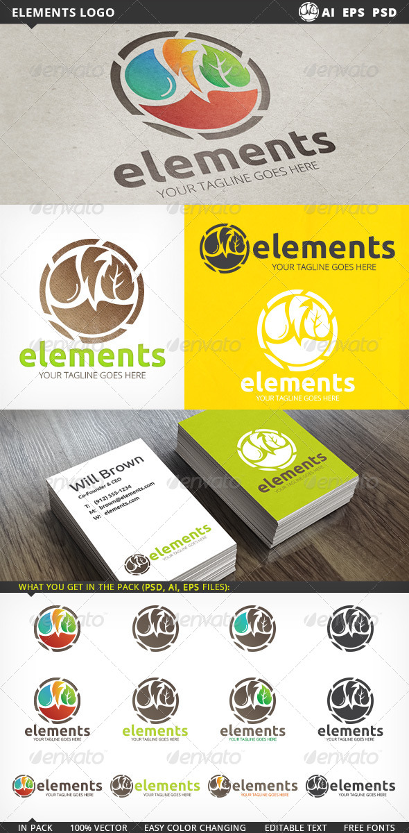 GraphicRiver Elements Logo 5430239