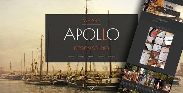 ThemeForest Apollo Responsive Animated Template 5399399