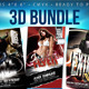 "3D Bundle (Flyers 4""x 6"" ) - GraphicRiver Item for Sale"
