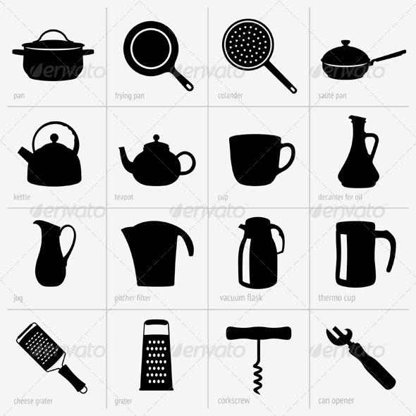 GraphicRiver Kitchenware 5430768