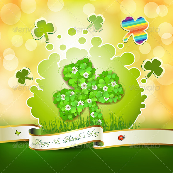 GraphicRiver Saint Patrick s Day Card 5430809