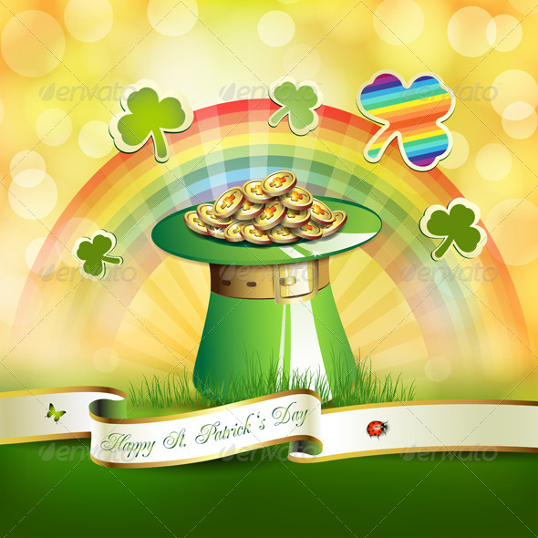 GraphicRiver St Patrick s Day Card 5430813