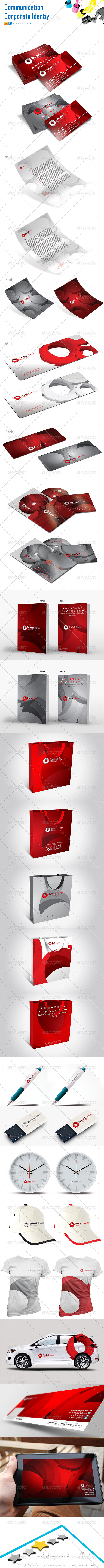 GraphicRiver Overlock Corporate Identity 5430947