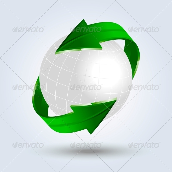 GraphicRiver Abstract Eco Vector Background 5431121