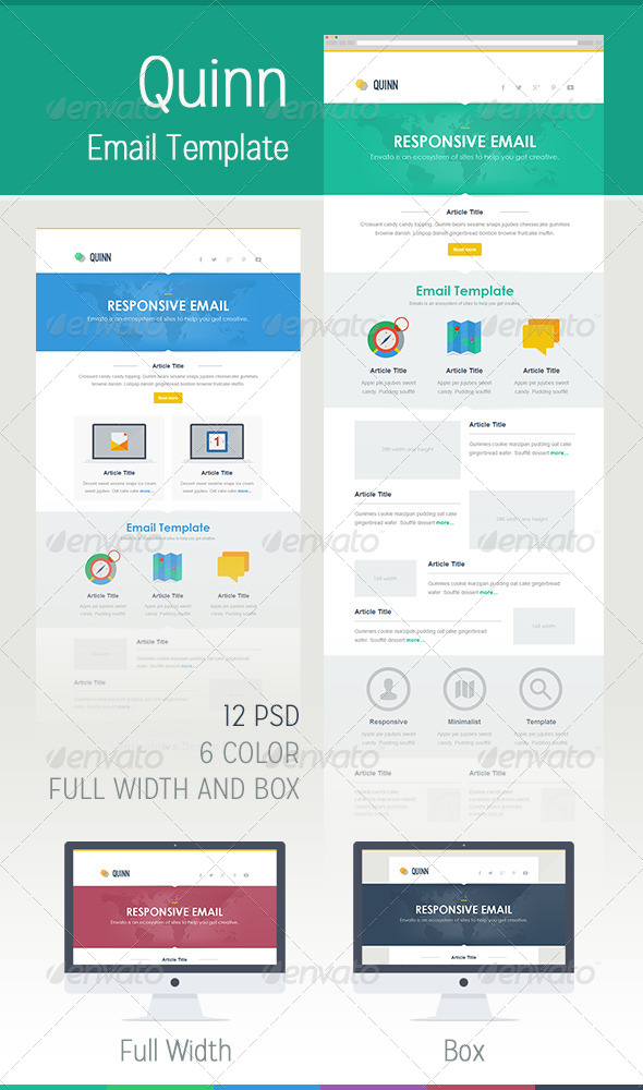 GraphicRiver Quinn Mail 5431184
