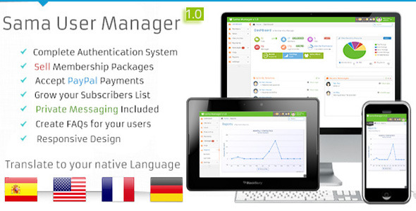 Sama User Manager - CodeCanyon Item for Sale