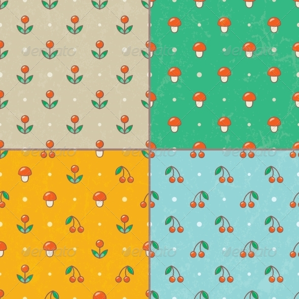 GraphicRiver Set of Seamless Patterns 5431669