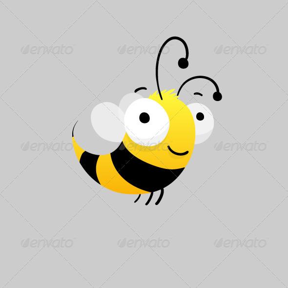 GraphicRiver Bee Illustration 5429379