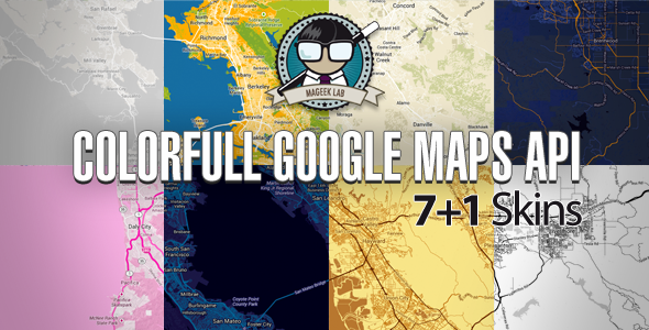 CodeCanyon Colorfull Google Maps API 5432242