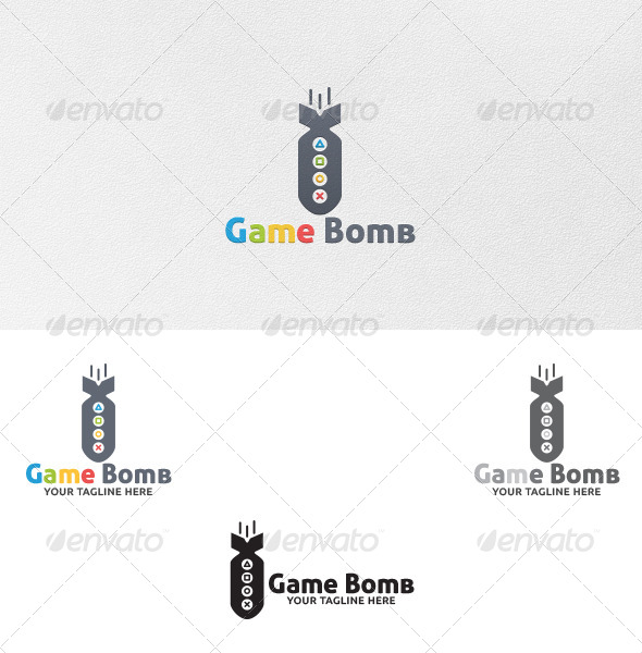 Game Bomb - Logo Template