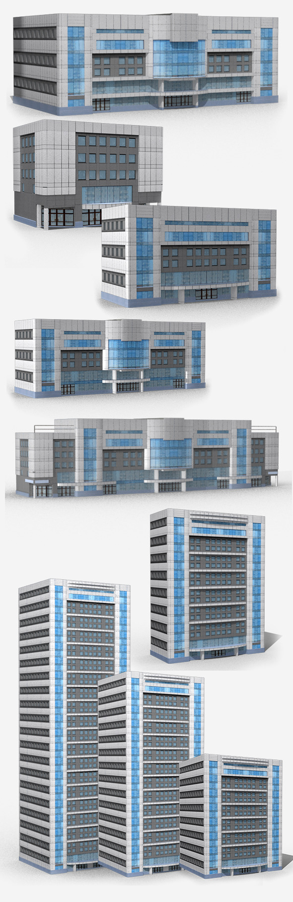 3DOcean Modern Buildings 5432725