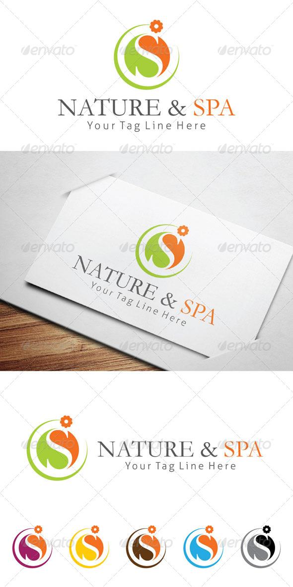 GraphicRiver Nature & Spa Logo Templates 5432888