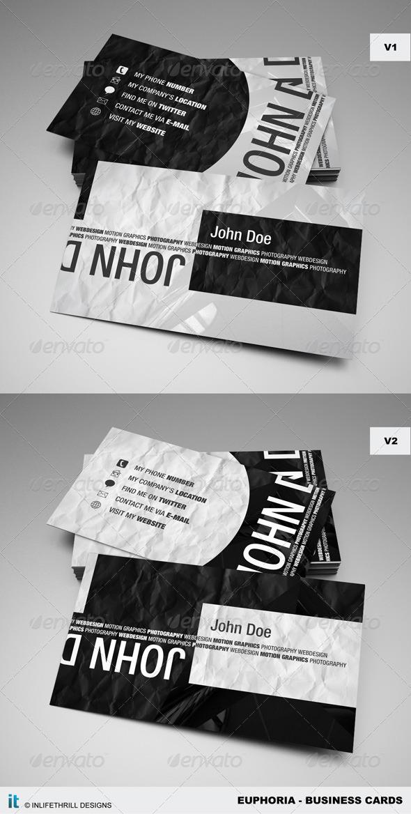 Euphoria Business cards