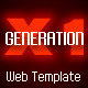 Generation X 1 Template - ActiveDen Item for Sale
