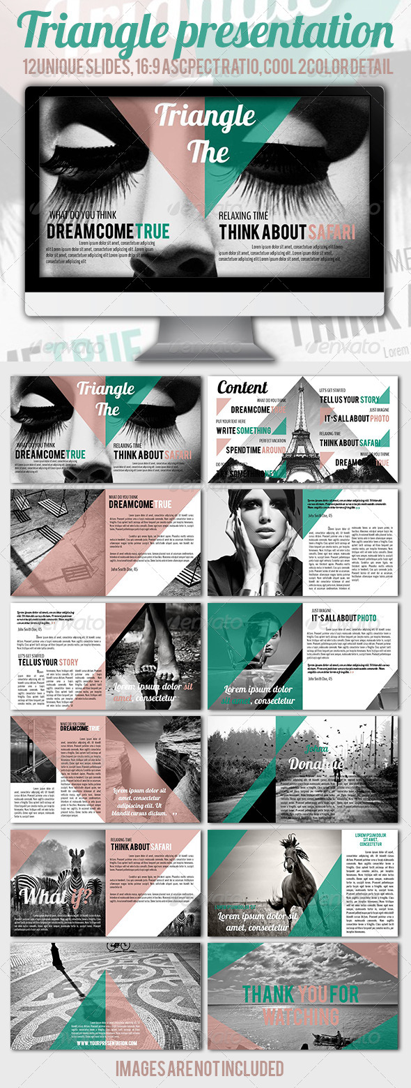 GraphicRiver Triangle Presentation 5433639