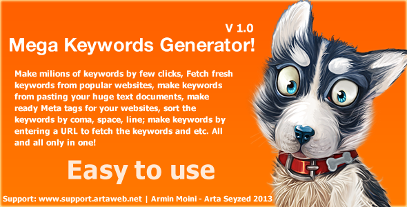 CodeCanyon Mega Keyword Generator 5410586