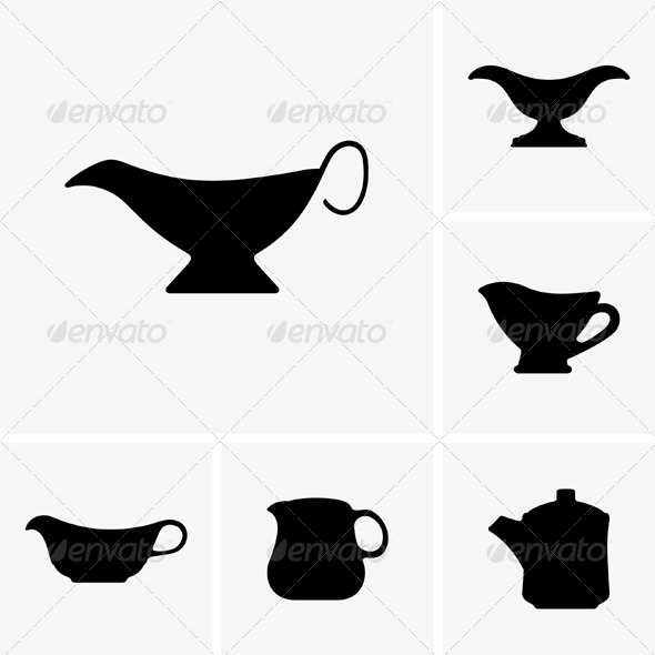 GraphicRiver Sauce Boats 5433883