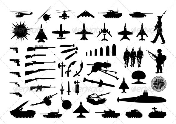 GraphicRiver Military collection 558834