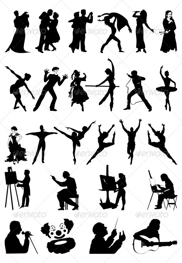 Graphic River People art Vectors -  Characters  People 558836