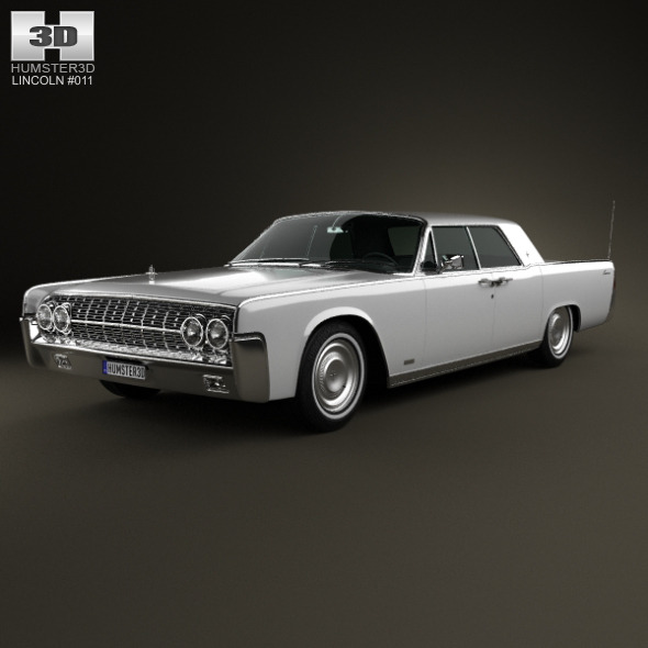 3DOcean Lincoln Continental sedan 1962 5434450