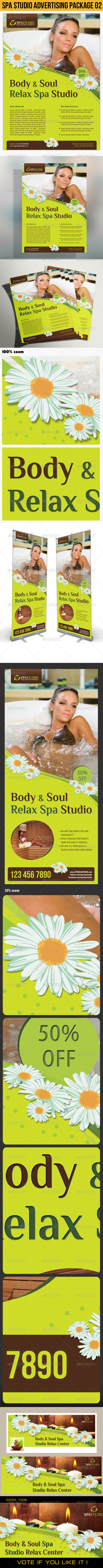 GraphicRiver Spa Studio Advertising Package 02 5434656